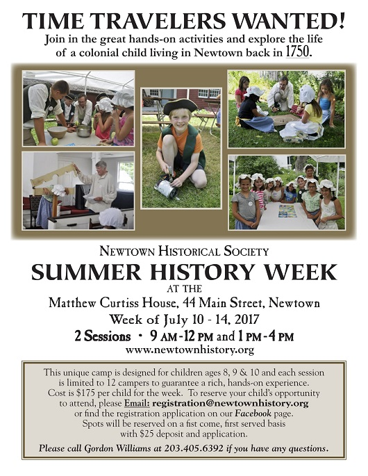 Summer History Camp Poster